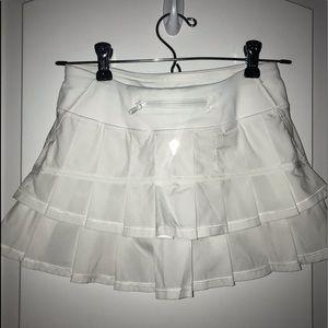 Girls Ivivva White Tennis Skirt
